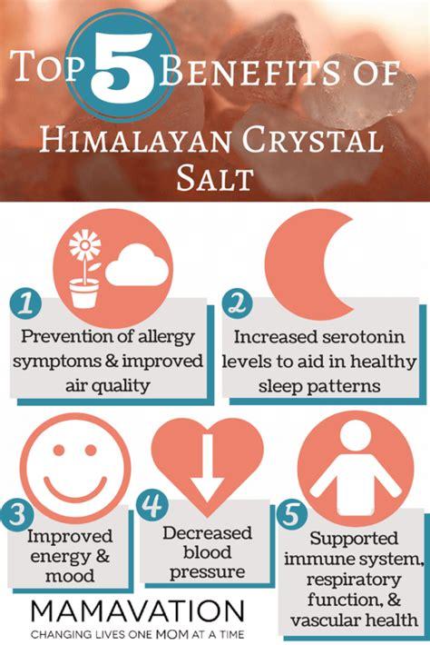himalayan salt l benefits research himalayan crystal salt top 5 benefits mamavation