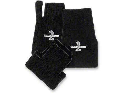 lloyd mustang front rear floor mats w shelby gt500 logo