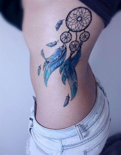 dreamcatcher tattoo down side colorful dream catcher tattoo your body is an empty