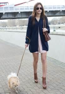 Bomber Despo Pink By B Grace askaround watson looks cold as she walks