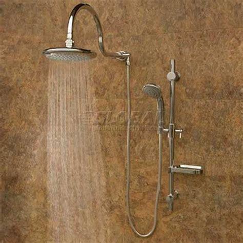 Aqua Shower System by Aqua Shower System Silver Finish Shower