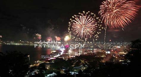 new year 2019 thailand enjoy 2018 new years in pattaya thailand