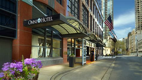 chicago hotels  downtown omni chicago hotel