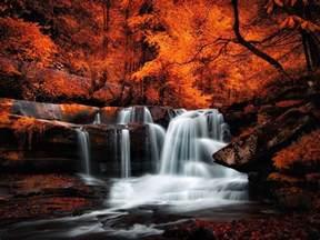 Nature Waterfalls Autumn Wallpaper 3200x2400 682073 Wallpaperup