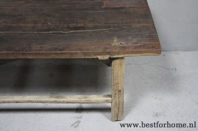 Chinese Houten Salontafel by Robuuste Oude Houten Salontafel Unieke Chinese Stoer