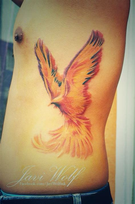 watercolor tattoo phoenix az watercolor phoenix tattoo by javi wolf ink pinterest