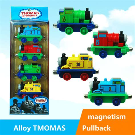 Diecast And Friends 164 4 Pcs 4pcs lot abs and alloy material pull back magnetic cars best gifts