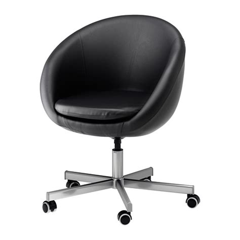 Skruvsta Swivel Chair Idhult Black Ikea Skruvsta Swivel Chair