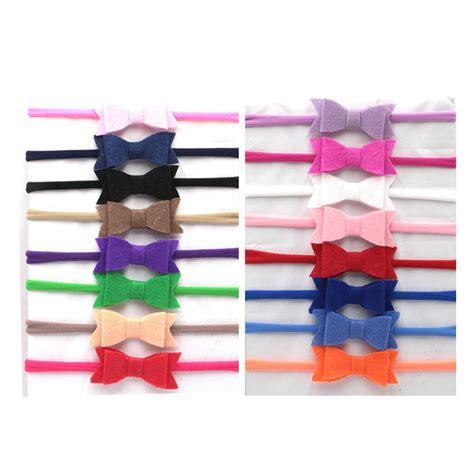 aliexpress buy headband baby elastic hairband felt hair bows infant toddler