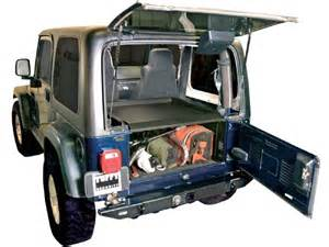 Jeep Security Jeep Wrangler Tuffy Trunk Security Deck Enclosure 4