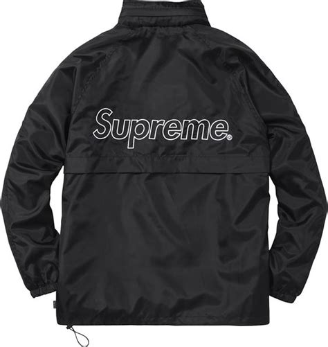 vintage supreme clothing supreme windbreaker clothes warm