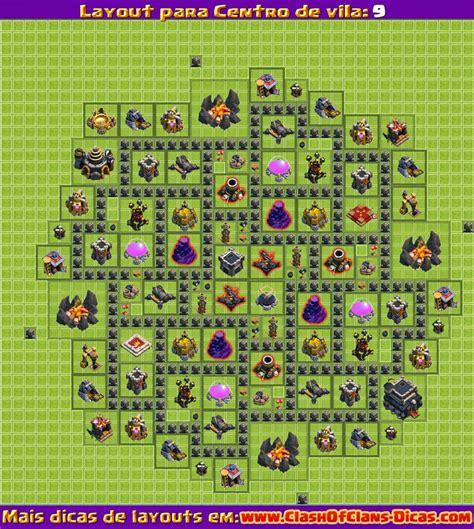 clash of clans dicas monte seu layout cv 5 youtube melhores layouts para clash of clans centro de vila n 237 vel