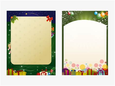 templates for christmas posters christmas poster templates vector art graphics