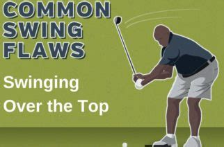 over the top swing fix common swing flaws reverse weight shift plugged in golf