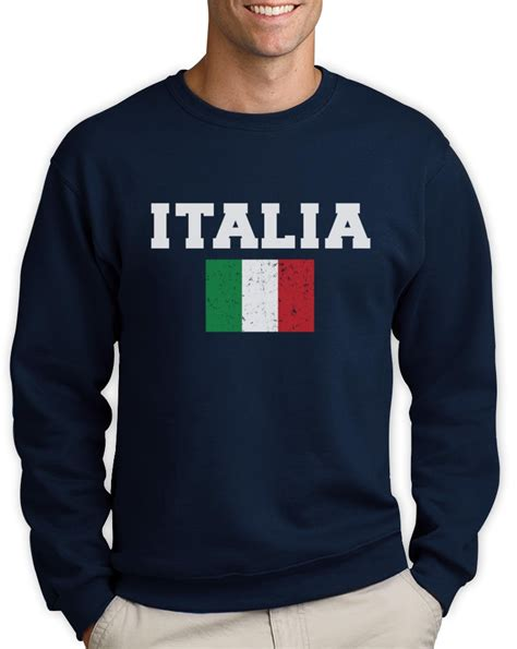 Sweater Italia italia flag sweatshirt world cup 2014 distressed italy