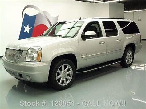 2010 gmc yukon denali nav dvd loaded milton ontario used car for sale 2148227 sell used 2010 gmc yukon xl denali sunroof nav 20 quot wheels dvd 45k texas direct auto in stafford