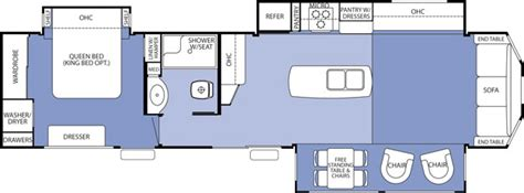 destination trailer floor plans forest river cedar creek cottage destination trailer by