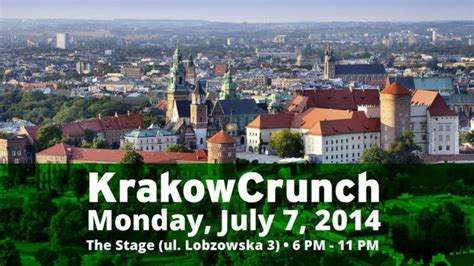 Ts14 711 I Ll Catch You With The Zodiacs 2 3 4 we ll see you tonight at krakowcrunch techcrunch