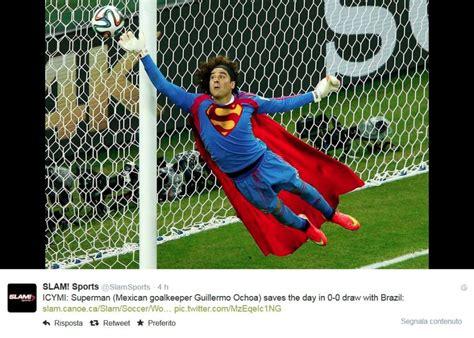 portiere camerun muro superman o matrix impazzisce per il