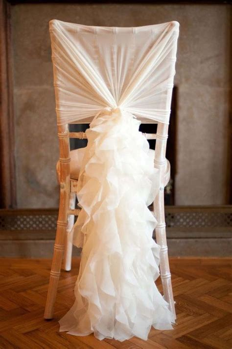 Chair Sashes For Weddings by 10 Ways To Add Wow To Your Wedding Chairs