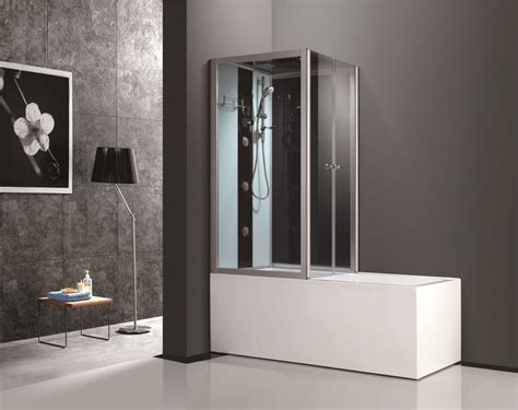 cheap bathtub shower combo china 2017 new modern design acrylic glass corner tub
