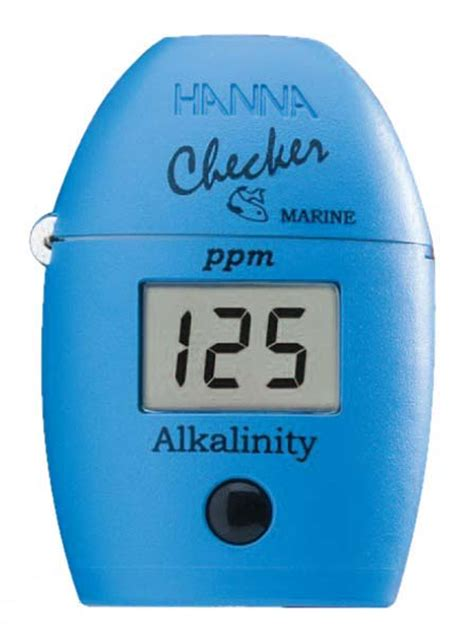 Marine Alkalinity Checker Reagents For Hi755 25 Tests Hi 775 26 instruments alkalinity checker hi 755