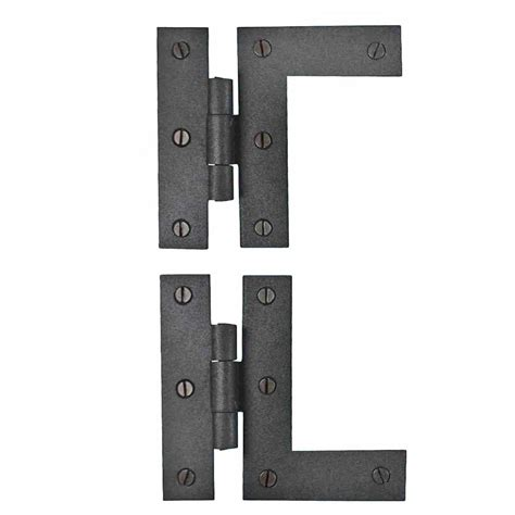colonial style cabinet hardware wrought iron cabinet hinges black left and right