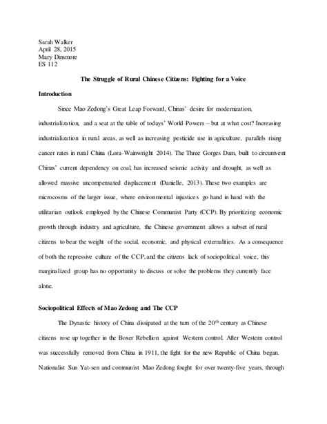 rights research paper human rights research paper china and the three gorges dam