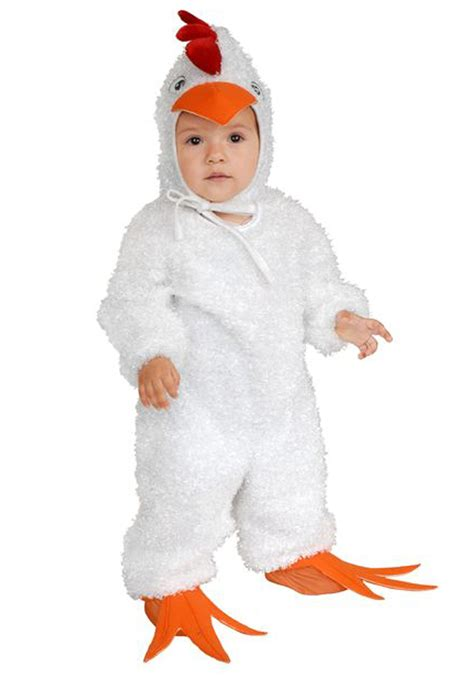 chicken costume toddler white rooster costume