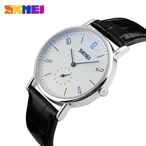 Skmei Jam Tangan Analog Pria 1135cl Black White T3010 3 Skmei Jam Tangan Analog Pria 9120cl White Black