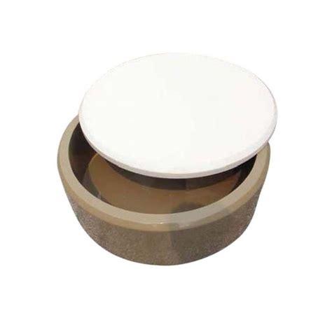 table basse ronde laqu 233 blanc et hirondelle achat