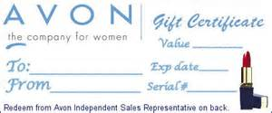 avon gift certificate template thirty one gifts wahm forums wahmcom invitations ideas