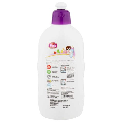 Sleek Bottle 500ml sleek bottle and baby accessories cleanser 500ml