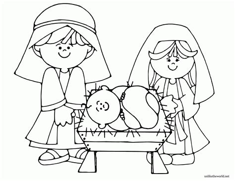 lds nativity coloring pages printable coloring pages for the nativity az coloring pages