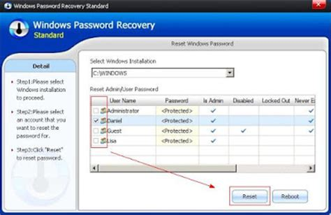 reset password windows xp portable windows 7 password reset windows 7 password recovery
