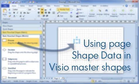 visio display shape data goldsmith s vislog using page shape data in visio