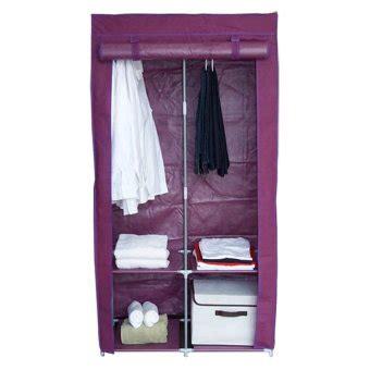 Rd Ungu funika 22137 rd lemari kain serbaguna merah ungu