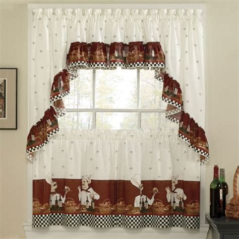 italian kitchen curtains chef italian bistro kitchen decor ideas