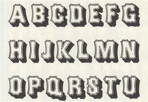 different design styles favorable different fonts alphabet letters