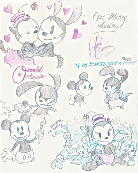 doodle mickey mouse epic mickey doodles by jackfreak1994 on deviantart
