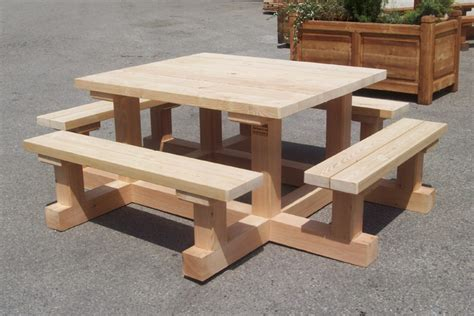 Bancs En Bois by Table Et Banc En Bois Table Et Bancs Pliant En Bois Table