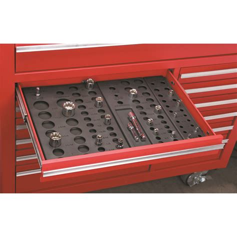 harbor freight tool box drawer organizers 6 socket drawer organizers
