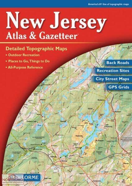 0004490363 carte touristique jersey en new jersey atlas touristique delorme nostromoweb