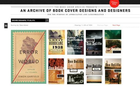 The Book Cover Archive ? siteInspire