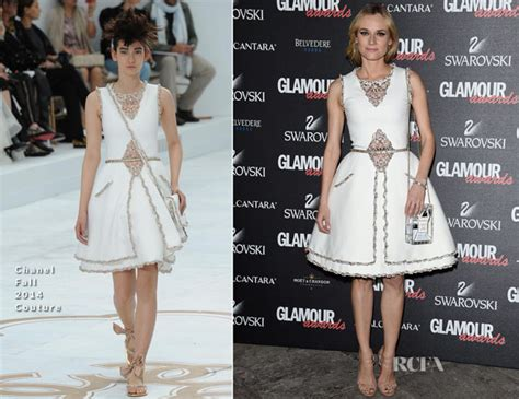 Catwalk To Carpet Diane Kruger In Chanel by Diane Kruger In Chanel Couture 2014 Awards