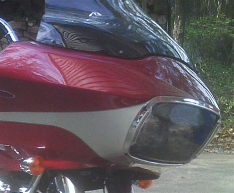 Lu Hid Eagle road glide headlight covers images
