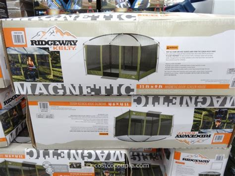 costco screen room ridgeway by kelty magnetic door screen house
