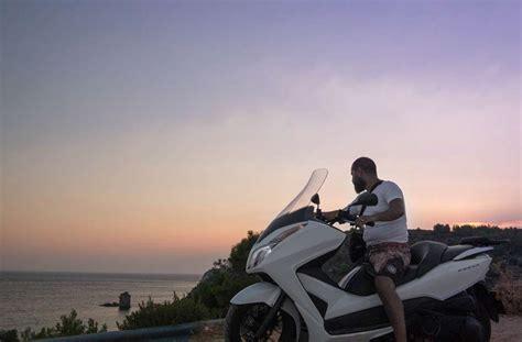 motosiklet guenluegue yunanistan gezisi gezgin cift