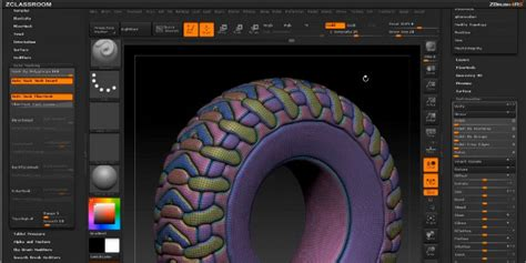tutorial zbrush 4r5 video tutorials using panel loops in zbrush 4r5 cg channel