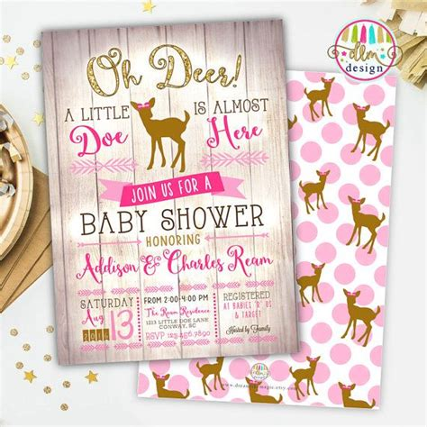 Baby Shower Deer Theme by 25 Best Ideas About Deer Baby Showers On